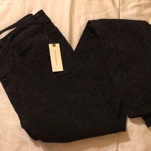 NWT Anthropologie Pilcro Black Pants Size 30